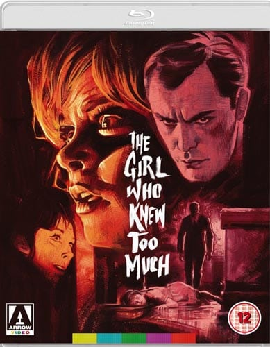 Arrow Video To Release THE GIRL WHO KNEW TOO MUCH On Dual
