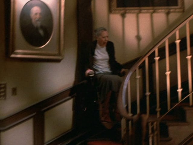 DEATH OF THE MONTH: GREMLINS U2013 Death By Stair Lift [1984]