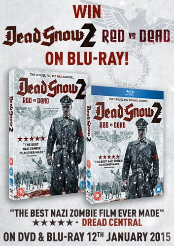 Win Dead Snow 2 on Blu-Ray