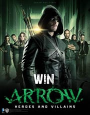 Win Arrow: Heroes and Villains book