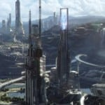 Three new images from 'Tomorrowland' reveal an impressive futuristic city