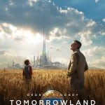 George Clooney smiles at the sky in new 'Tomorrowland' poster, new trailer arrives next week!