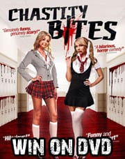 Win Chastity Bites on DVD