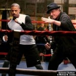 FIRST OFFICIAL PIC FROM 'CREED' SHOWS ROCKY BACK IN THE RING…IF ONLY AS A TRAINER