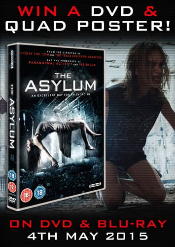 Win The Asylum DVD and poster