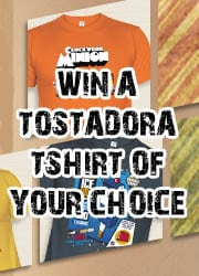 Win a Tostadora t-shirt of your choice