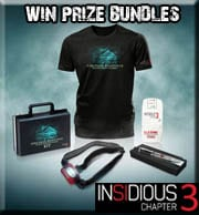 Win Insidious: Chapter 3 prize bundles