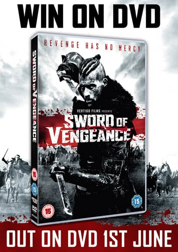 Win Sword of Vengeance on DVD