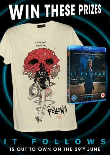 Win It Follows Blu-Ray and T-Shirt