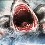 Glorious sharks attack in 3's! Trailers for '3-Headed Shark Attack' and 'Sharknado 3' will swallow you whole!