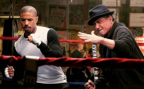 LATEST MOVIES: Early word is CREED is a worthy Rocky spin off....Carl Weathers praises prodigy
