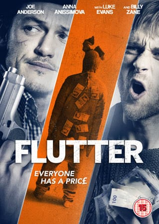 Sexy Brit Thriller FLUTTER to Release on DVD in UK on 3rd August 2015