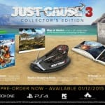 JUST CAUSE 3 Collector's Edition Contents Revealed