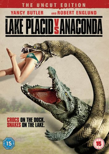 Win Lake Placid vs Anaconda on DVD
