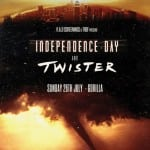 R.A.D. Screenings and TROF To Screen INDEPENDENCE DAY and TWISTER at Gorilla, Manchester on 26th July 2015