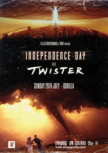 rad screenings and trof to screen independence day and