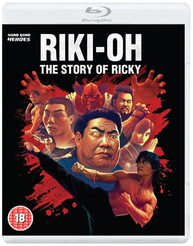 RIKI-OH: THE STORY OF RICKY To Release on DVD and Blu-Ray in UK on 27th July 2015