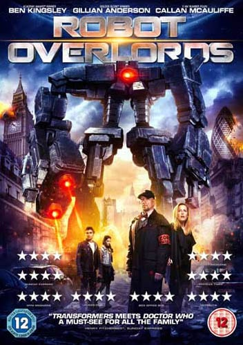 Win Robot Overlords t-shirt and DVD