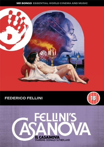 Win Fellini's Casanova on Blu-Ray