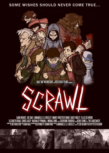 Scrawl Promotional Poster - Website 2nd Variant (New Creds)