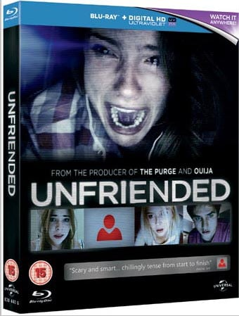 Win Unfriended on Blu-Ray
