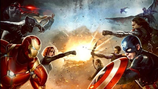 Concept art for 'Captain America: Civil War' reveals who's on which team