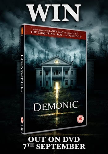 Win Demonic on DVD
