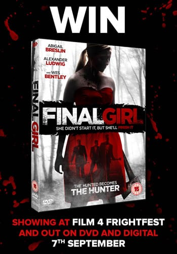 Win Final Girl on DVD