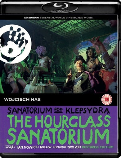 Win The Hourglass Sanatorium on Blu-Ray