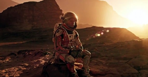 A new viral video for 'The Martian' details the doomed mission to Mars