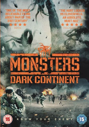 Win Monsters: Dark Continent on DVD