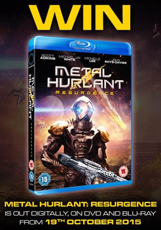 Win Metal Hurlant Resurgence on Blu-Ray