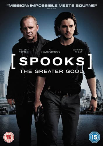 Win Spooks: The Greater Good on DVD