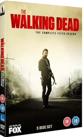 Win The Walking Dead: The Complete Fifth Season on DVD