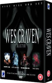 Win Wes Craven Boxset on DVD