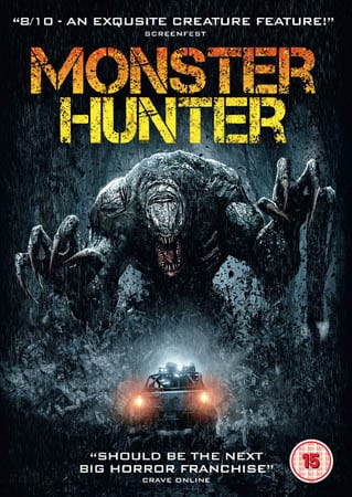 Win Monster Hunter on DVD