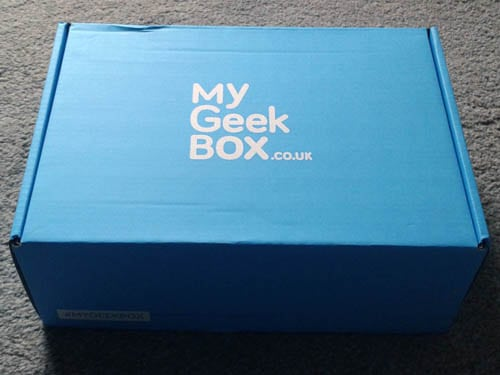 My Geek Box Review (Afterlife #MyGeekBox October 2015)