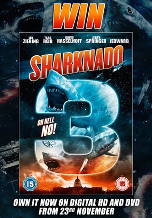 Win Sharknado 3 on DVD