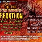 The First Ever DEAD AND SUDBURIED HORRORTHON Set For Suffolk on 26th March 2016