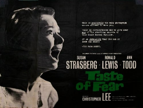 El Sabor Del Miedo - Taste of Fear - Scream Of Fear - 1961 - 001