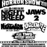 Line-Up Announced For HUDSON HORROR SHOW XIII on 14th May 2016 in Poughkeepsie
