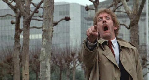 invasion of the body snatchers 1978 donald sutherland