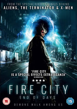 Win Fire City: End of Days on DVD