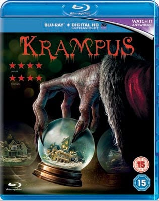 Win Krampus on Blu-Ray