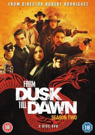 Win From Dusk Till Dawn Season Two on DVD