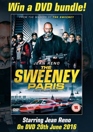 Win DVD Bundle with The Sweeney: Paris