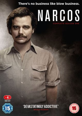 Win Narcos on DVD