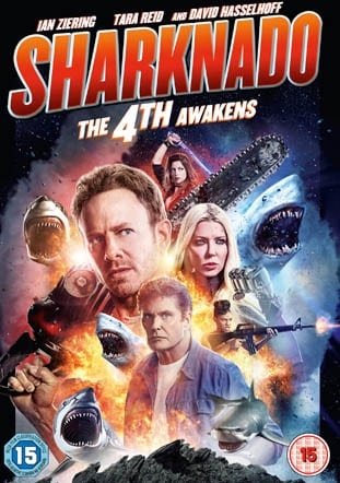 Win Sharknado The 4th Awakens on DVD