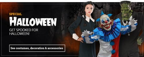 Win Halloween costume from Funidelia