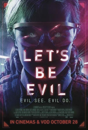 Win Let's Be Evil poster and t-shirt